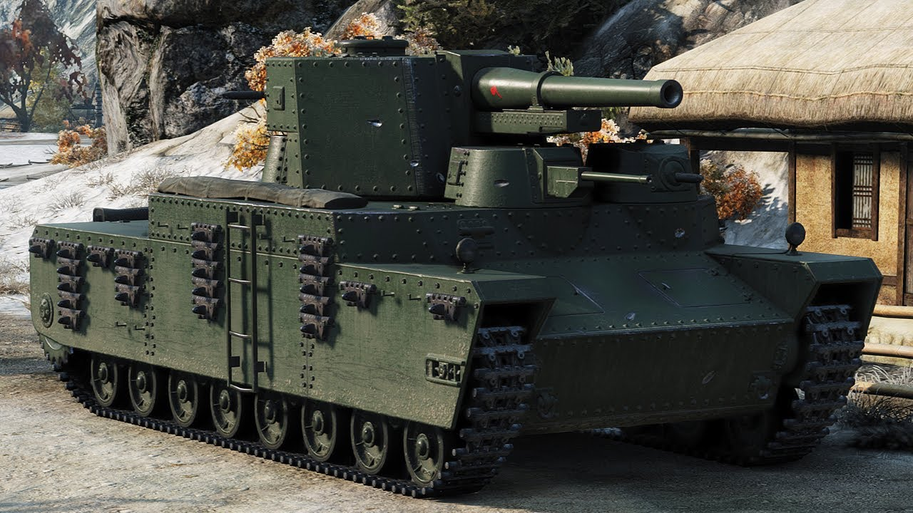 О-НО тяжелый японский танк в World of Tanks