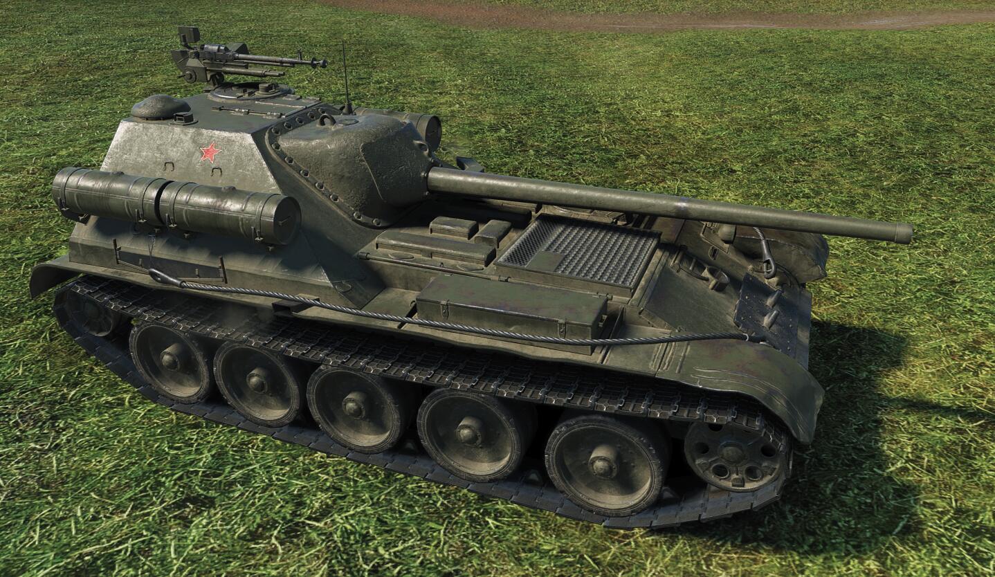 СУ-101 - советская ПТ-САУ 8 уровня в World of Tanks