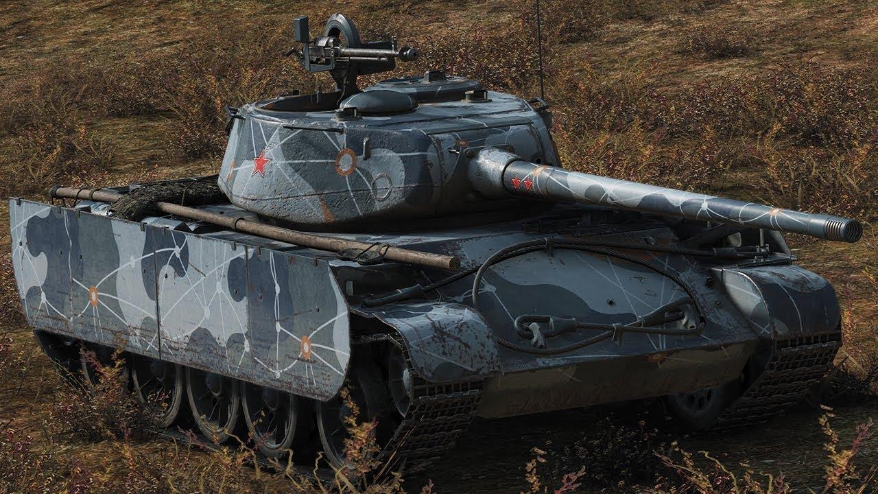 Т-44-100 (Р) - советский премиум танк 8 уровня в World of Tanks