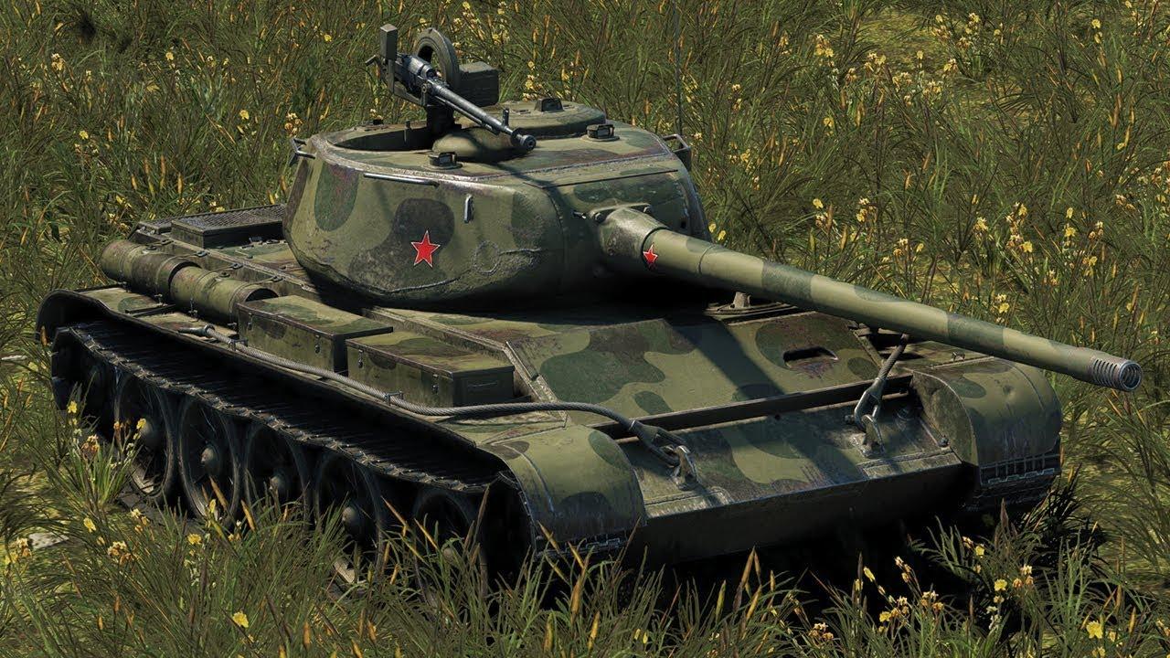 Т-44  - средний танк 8 уровня в World of Tanks