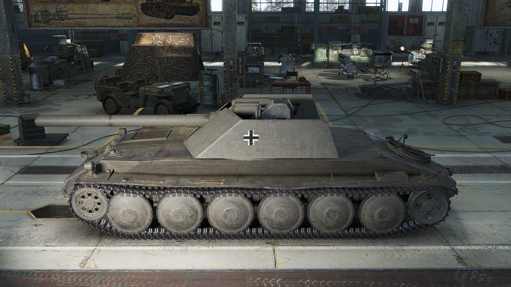 Rhm.-Borsig Waffenträger - немецкая ПТ-САУ 8 уровня в World of Tanks