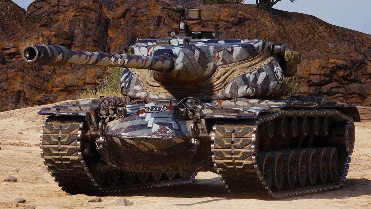 T57 Heavy —  американский ТТ 10 уровня в World of Tanks
