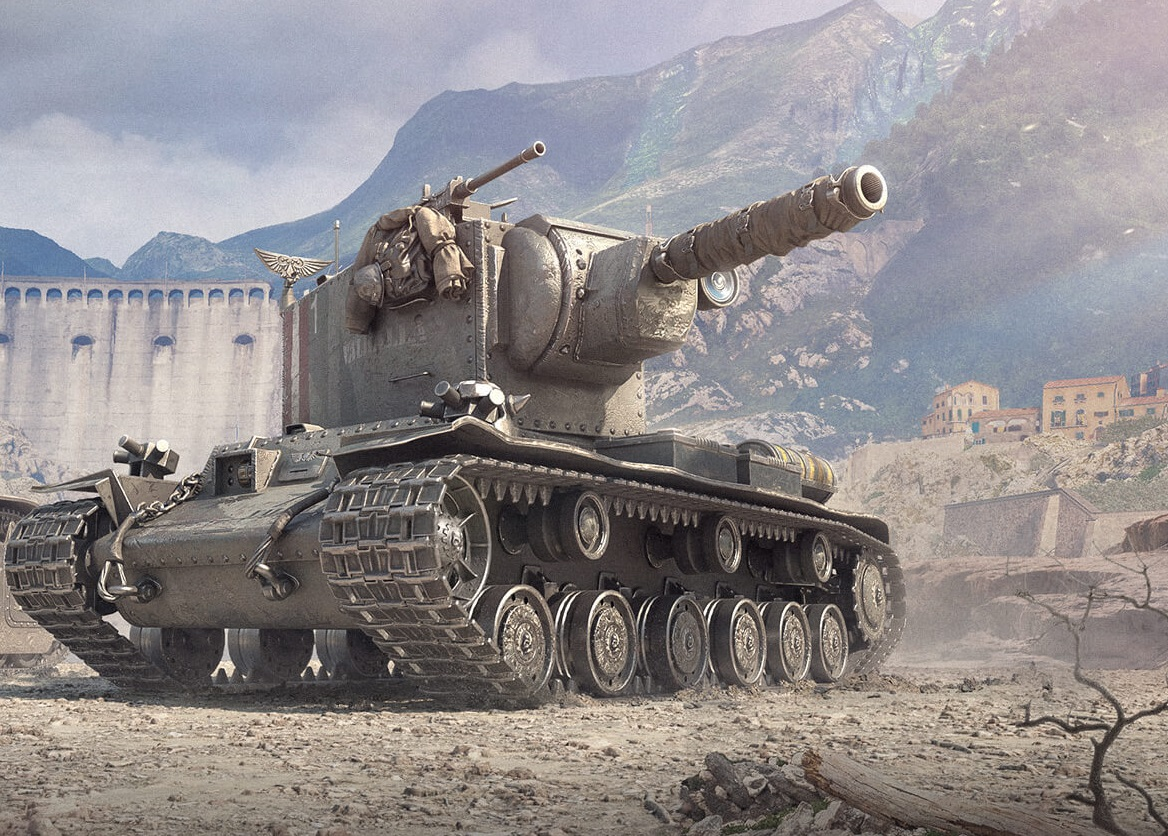 КВ-2 (Р) — ТТ СССР 6 уровня в World of Tanks