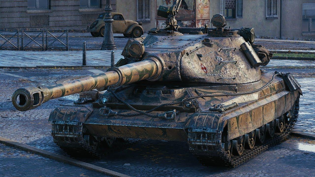 60 TP Lewandowskiego — польский ТТ 10 уровня в World of Tanks