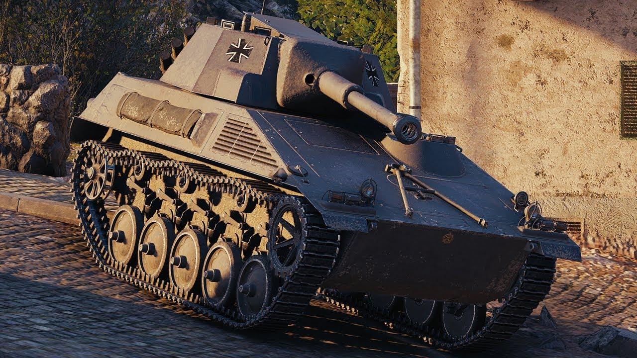 Spähpanzer SP I C — ЛТ 7 уровня в World of Tanks