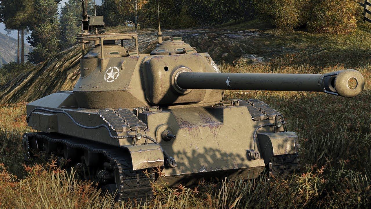 T28 Prototype — американская ПТ-САУ 8 уровня в World of Tanks