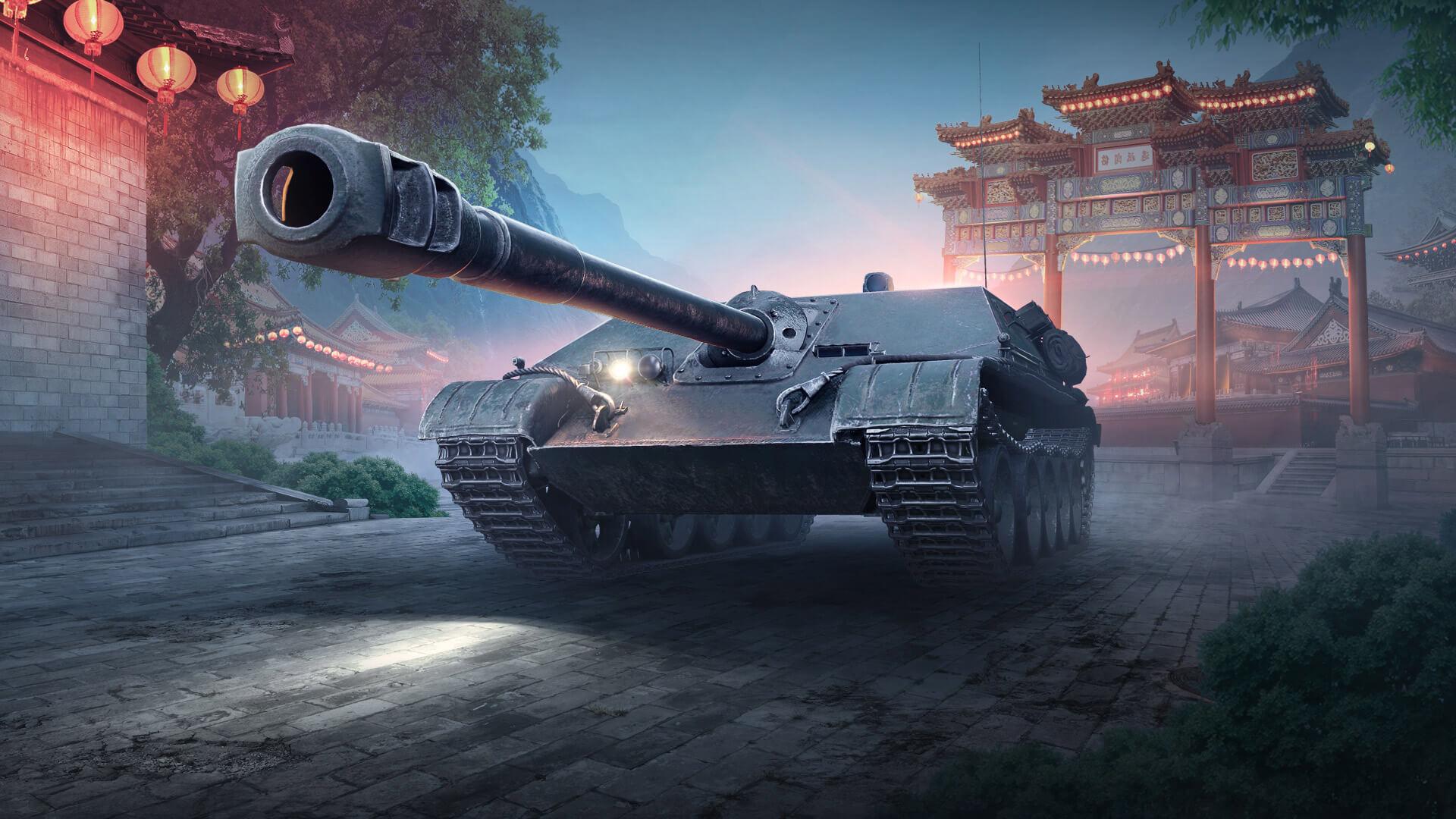 WZ-120-1G FT — китайская ПТ-САУ 8 уровня в World of Tanks