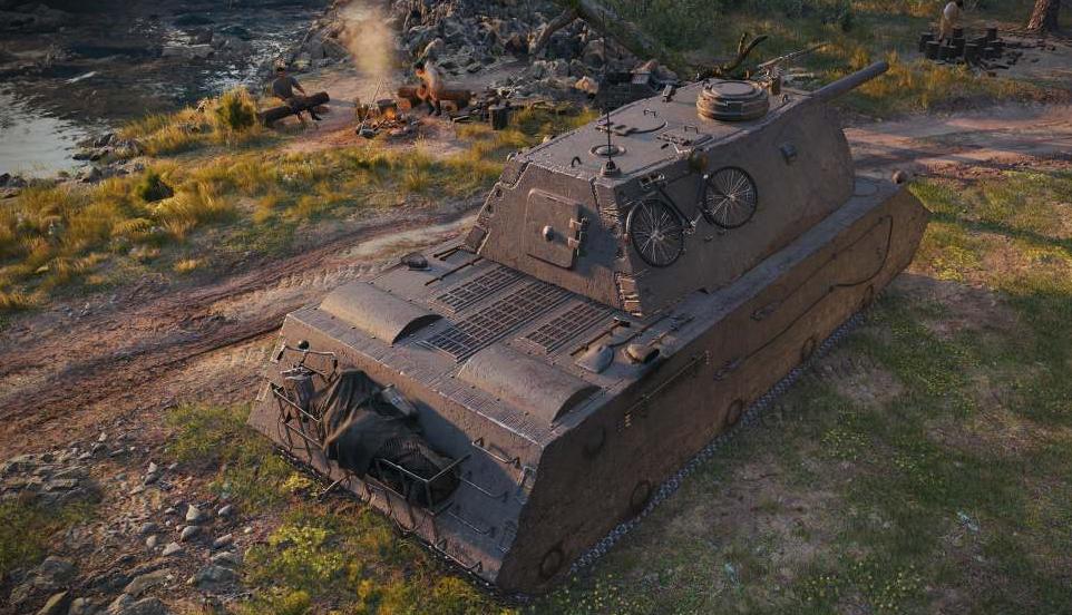 VK168.01 (P) тяжелый немецкий танк 8 уровня в World of Tanks