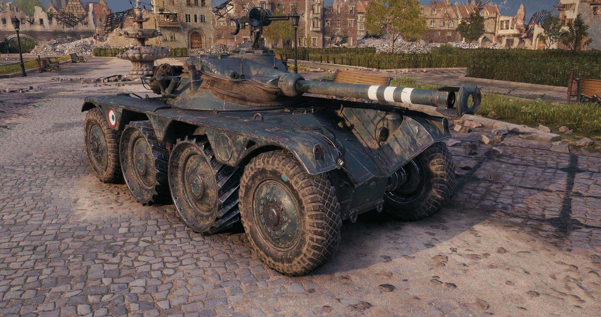 Panhard EBR 90 — французский ЛТ 9 уровня в World of Tanks