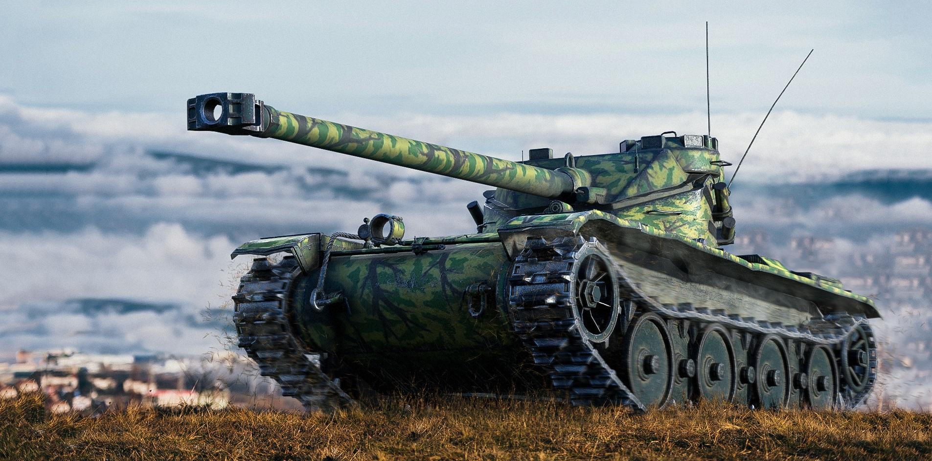 Bat.-Châtillon 12 t — французский ЛТ 8 уровня в World of Tanks