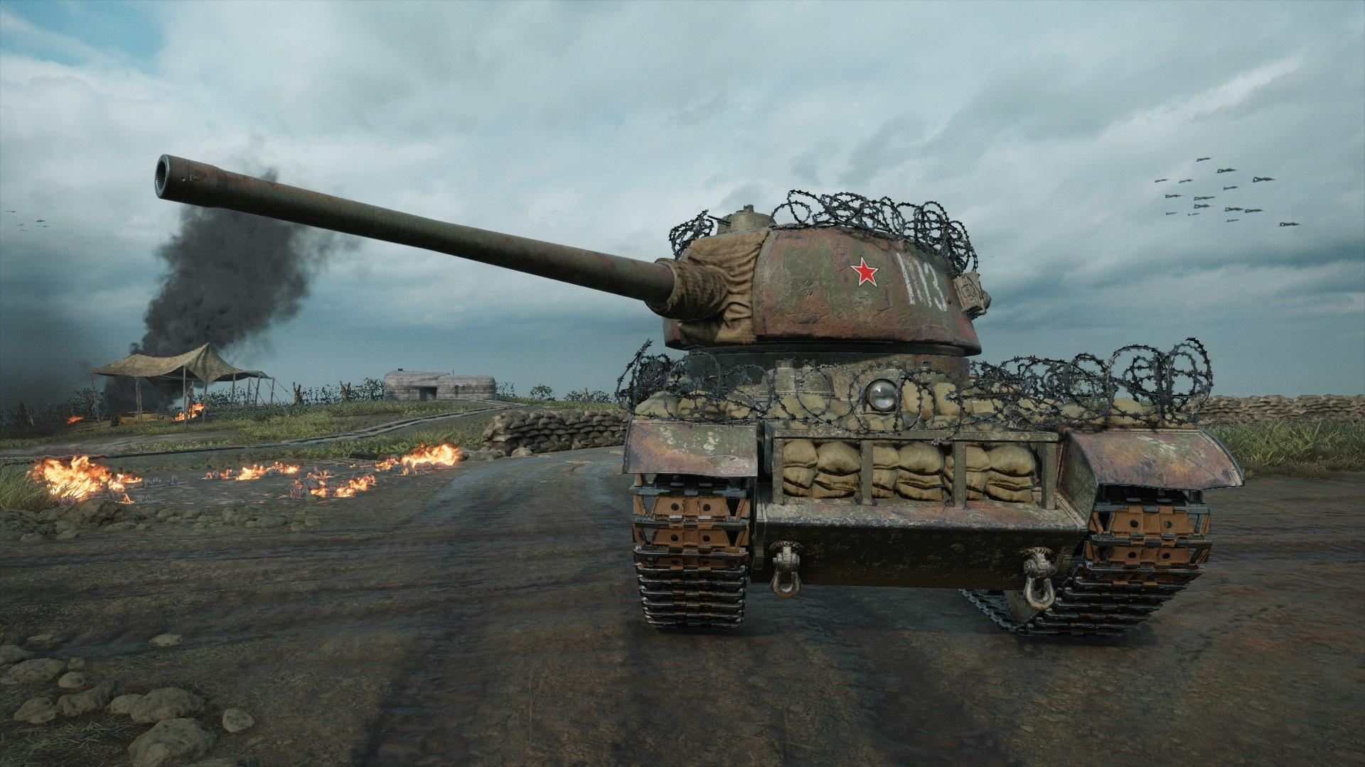 Т-103 — советская премиумная ПТ-САУ 8 уровня в World of Tanks