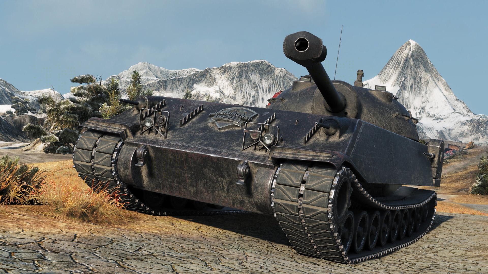 Chrysler K GF — премиумный тяжелый танк США 8 уровня в World of Tanks