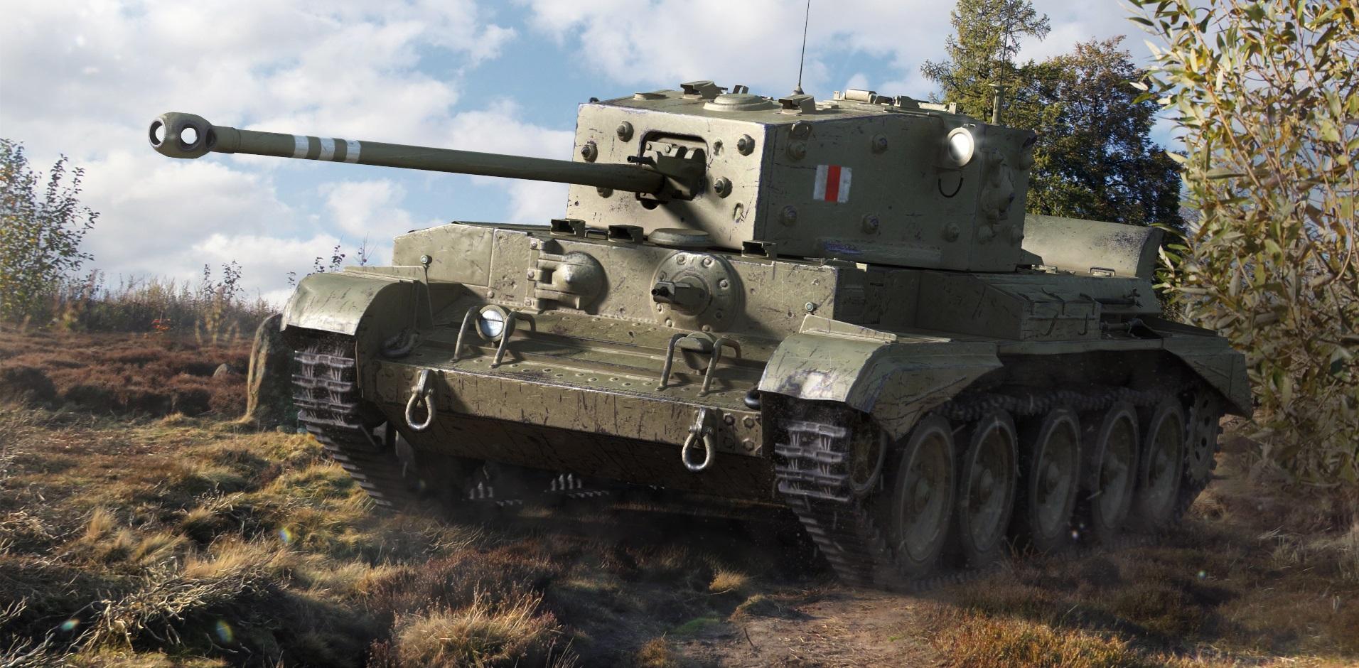 Cromwell — британский средний танк 6 уровня в World of Tanks