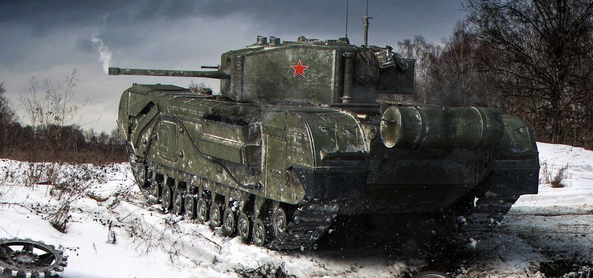 Черчилль III —премиумный советский тяжелый танк 5 уровня в World of Tanks.