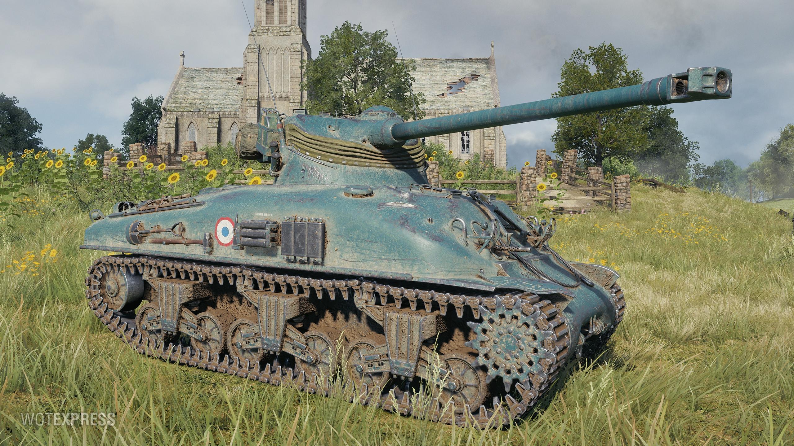 M4A1 FL 10 — французский средний прем танк в World of Tanks