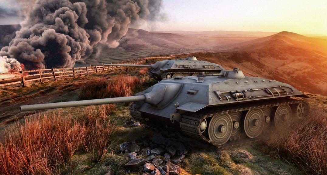 Е 25 — немецкая премиумная ПТ-САУ 7 уровня в World of Tanks