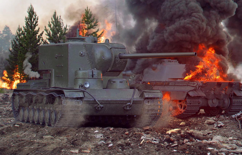 КВ-5 — советский премиумный тяжелый танк 8 уровня в World of Tanks.