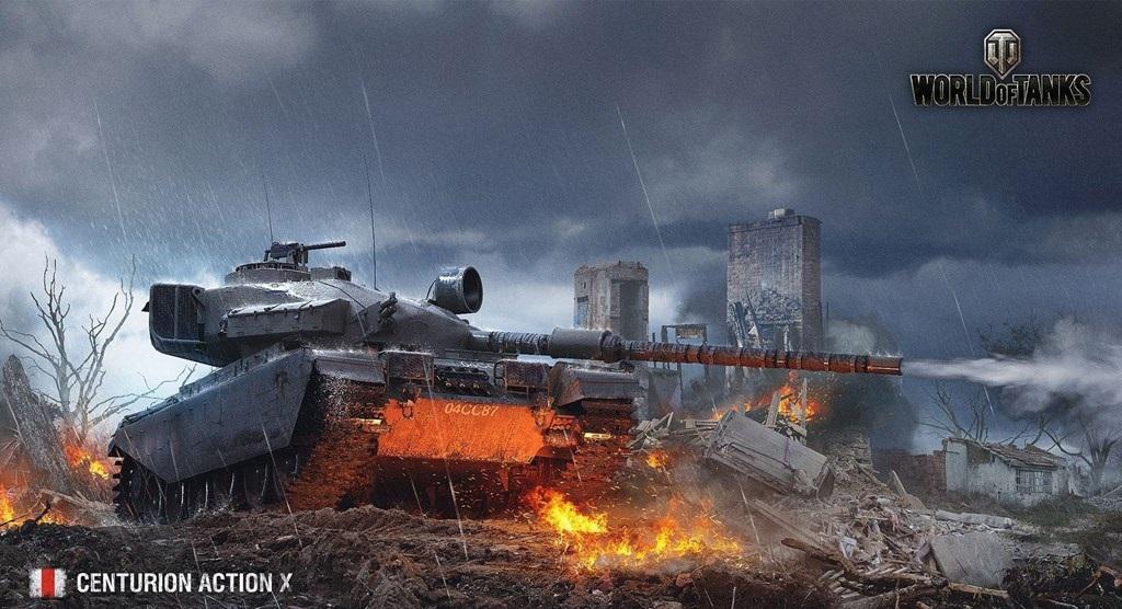 Акция «В бой на Centurion Action X» в World of Tanks