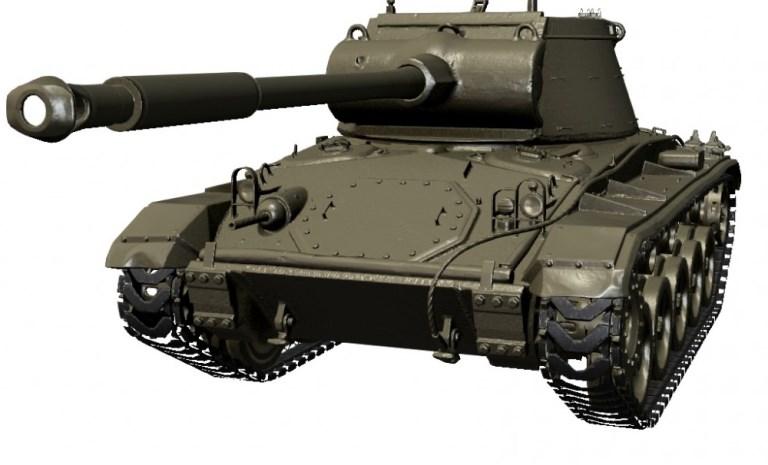 Т78 — новый прем танк 6 уровня США в World of Tanks