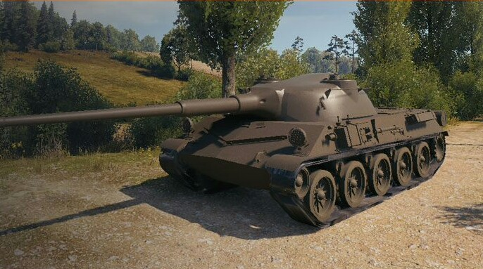 Škoda T 27  — средний премиумный танк 8 уровня Чехословакии в World of Tanks