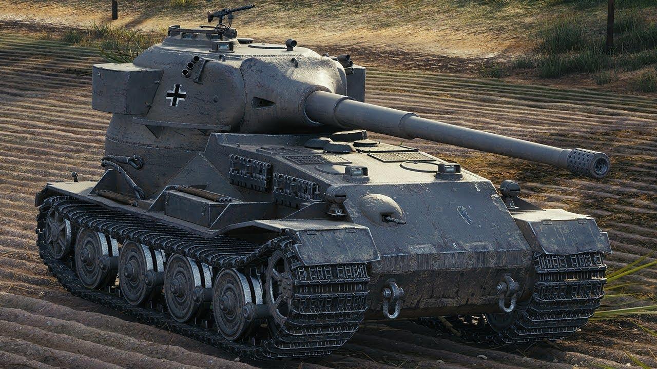 Pz.Kpfw. VII — тяжелый немецкий танк 10 уровня в World of Tanks