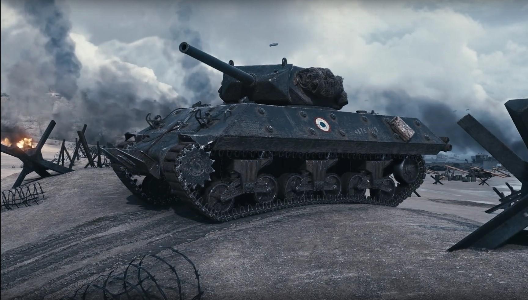 M10 RBFM — французская премиумная ПТ-САУ 5 уровня в World of Tanks