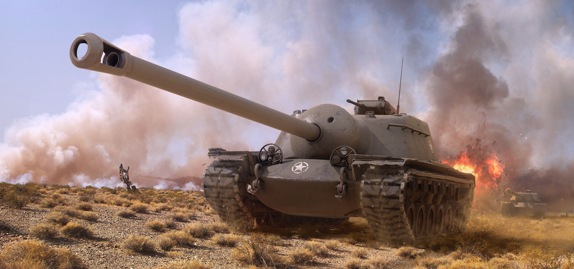 Акция «В бой на T110E3» в World of Tanks