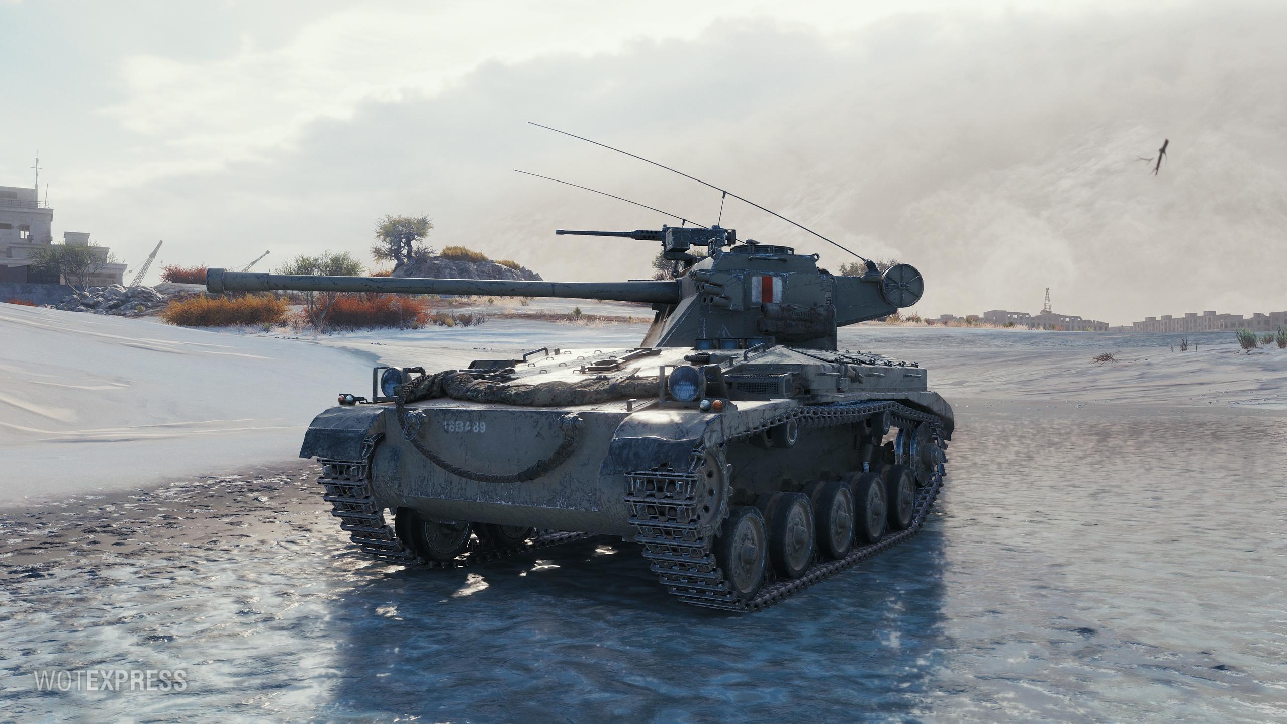 FV1066 Senlac — британский премиумный легкий танк 8 уровня в World of Tanks.