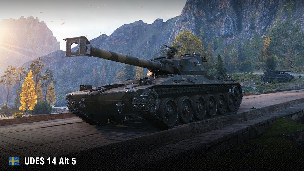 UDES 14 Alt 5 — шведский средний танк 8 уровня в World of Tanks