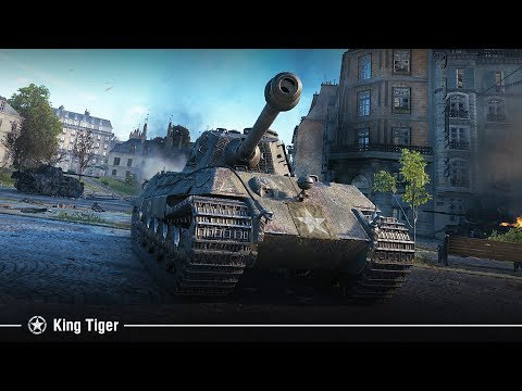 King Tiger (захваченный) — прем танк 7 уровня США