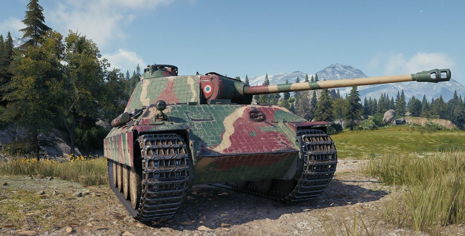 Bretagne Panther — средний прем танк 6 уровня в World of Tanks