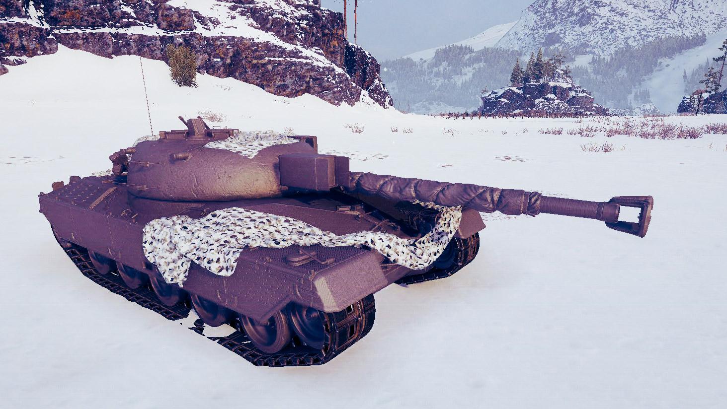 Kampfpanzer 50 t — главная награда за Ранговые бои в 2019 году