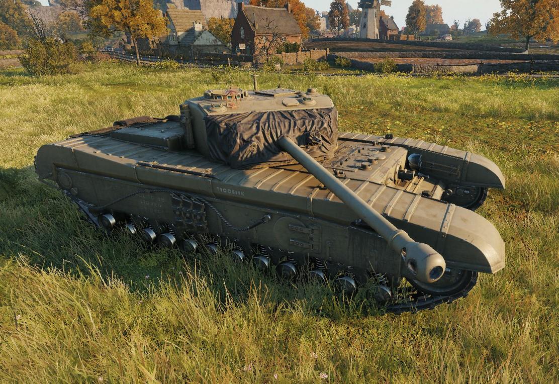 A43 BP prototype — тяжелый прем танк Великобритании