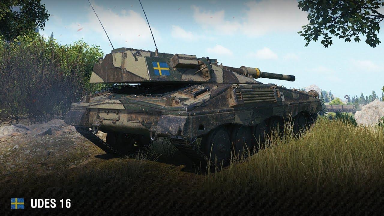 Udes 16 — шведский средний танк 9 уровня в World of Tanks