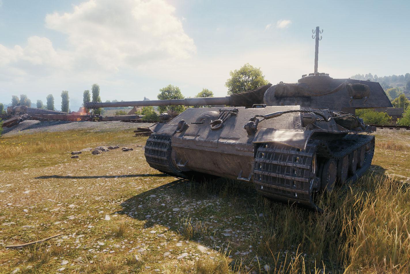 VK 75.01 (K) — немецкий тяжелый танк 8 уровня в World of Tanks