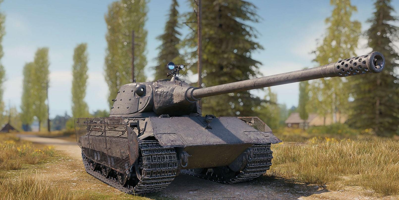 Обзор E 75 TS — тяжелого немецкого прем танка 8 уровня