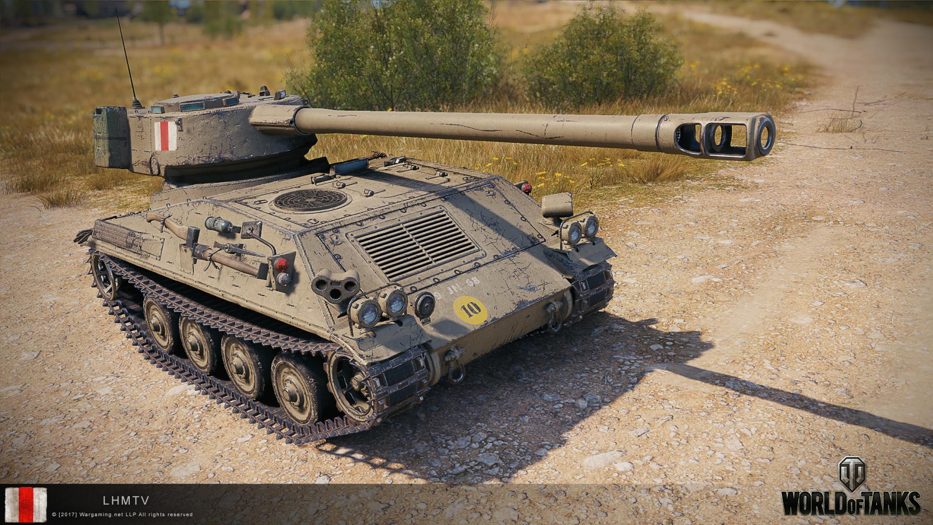 LHMTV — британский легкий танк 8 уровня в World of Tanks