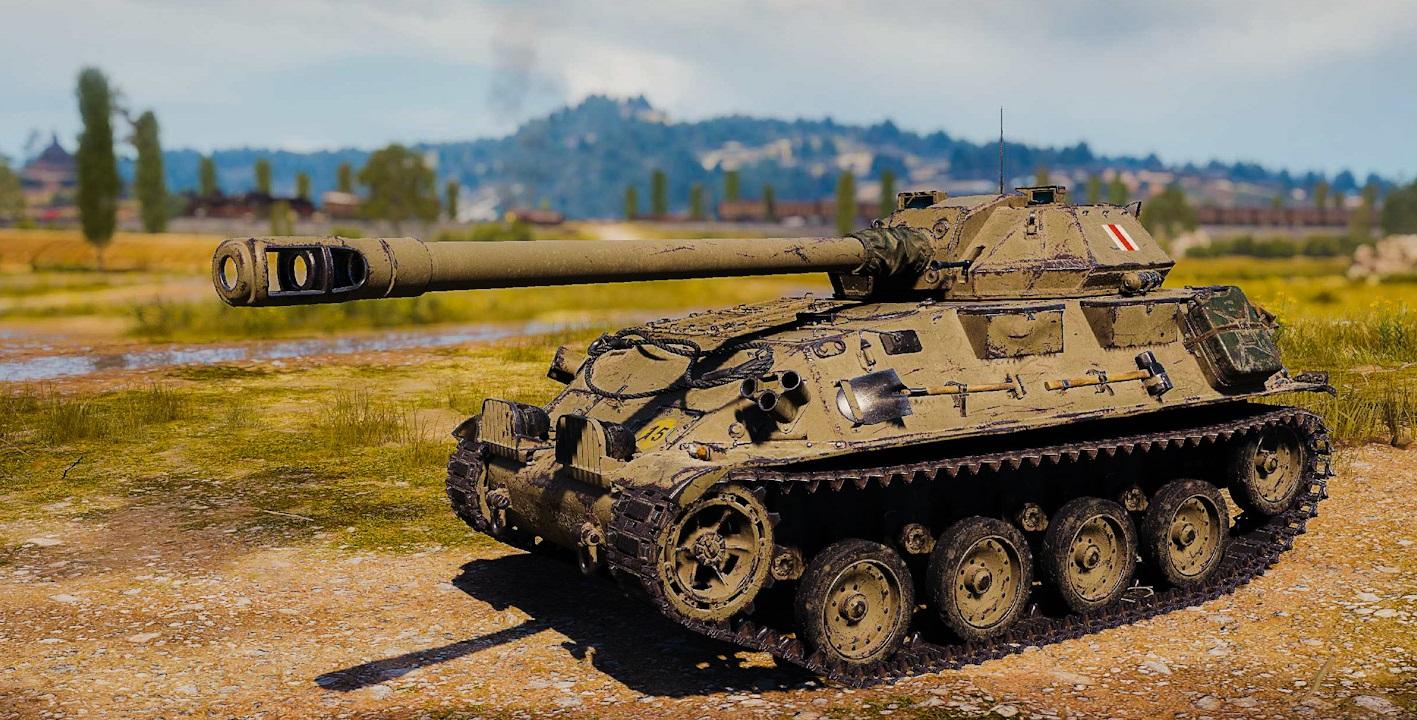 GSOR3301 AVR FS — британский легкий танк 9 уровня в World of Tanks