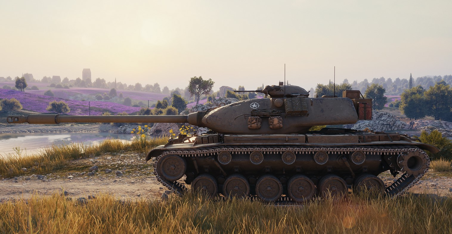 M54 Renegade — тяжелый прем танк США 8 уровня в World of Tanks