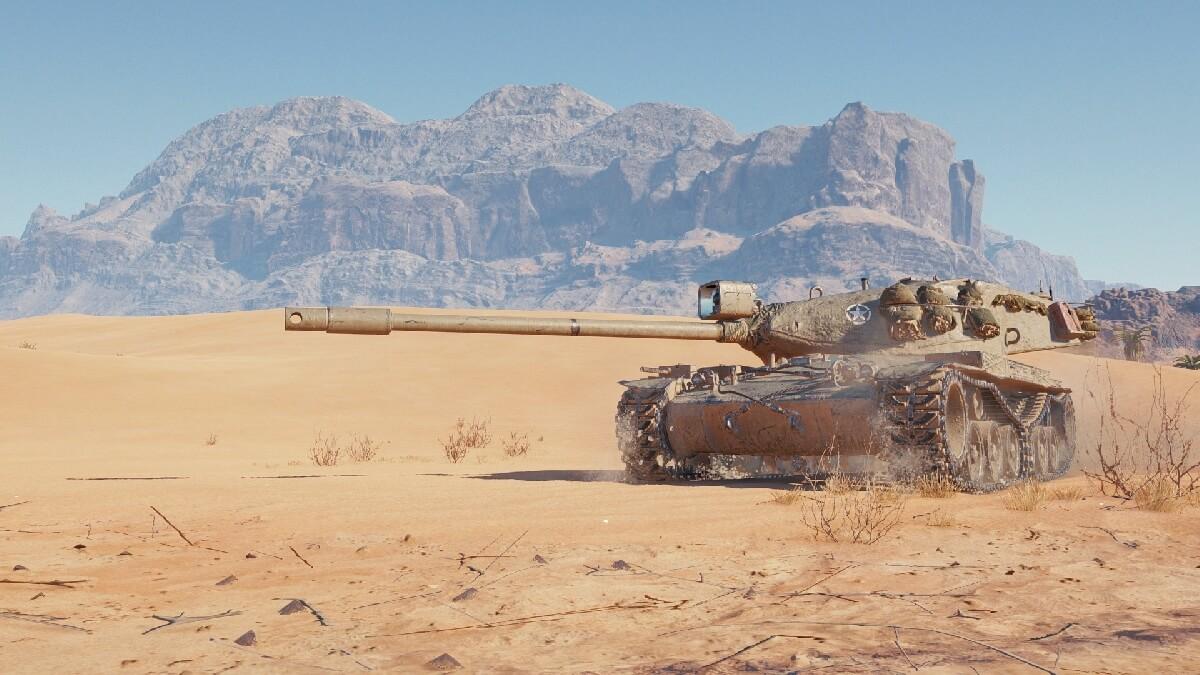 AE Phase I — танк 9 уровня в награду за «Линию фронта»
