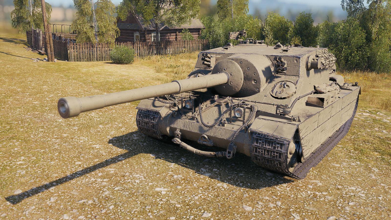 Turtle Mk. I — британская премиумная ПТ-САУ 8 уровня в World of Tanks