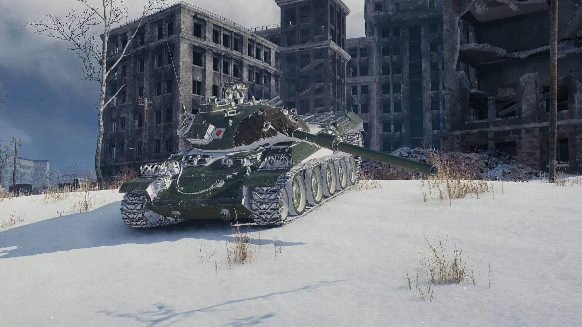 STB-1 — японский средний танк 10 уровня в World of Tanks