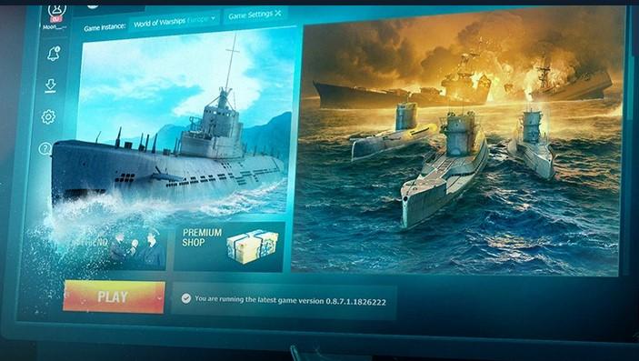 Бета-тест подводных лодок в World of Warships