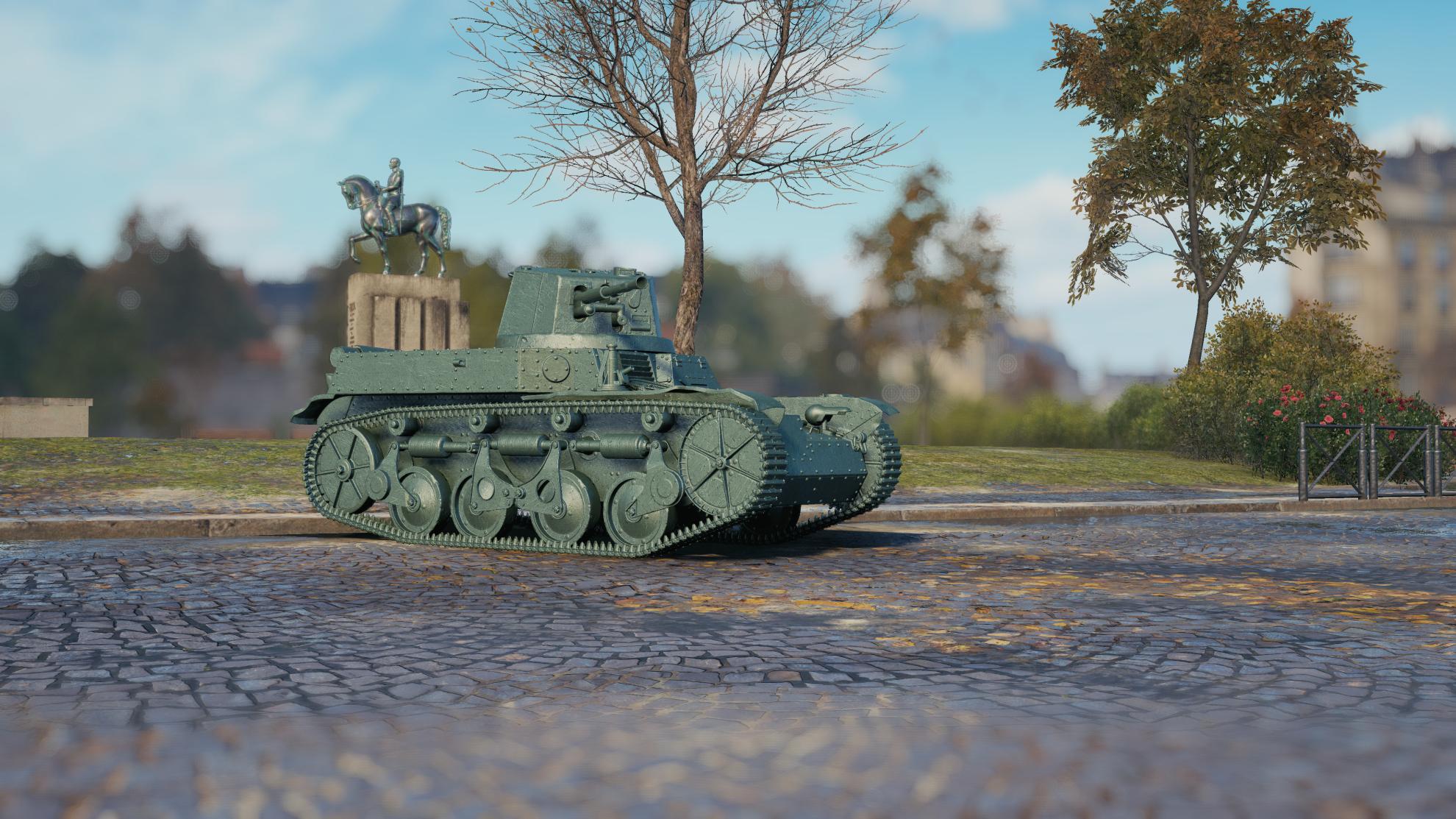 AMR 35 — французский легкий прем танк 2 уровня WOT