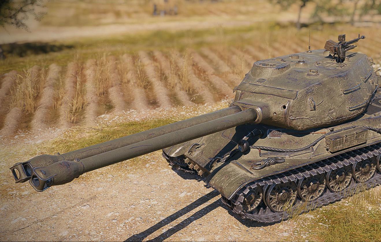 Обзор СТ-II — тяжелый двуствольный танк СССР 10 уровня