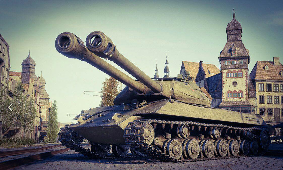 Объект 703 Вариант II — тяжелый прем танк СССР 8 уровня