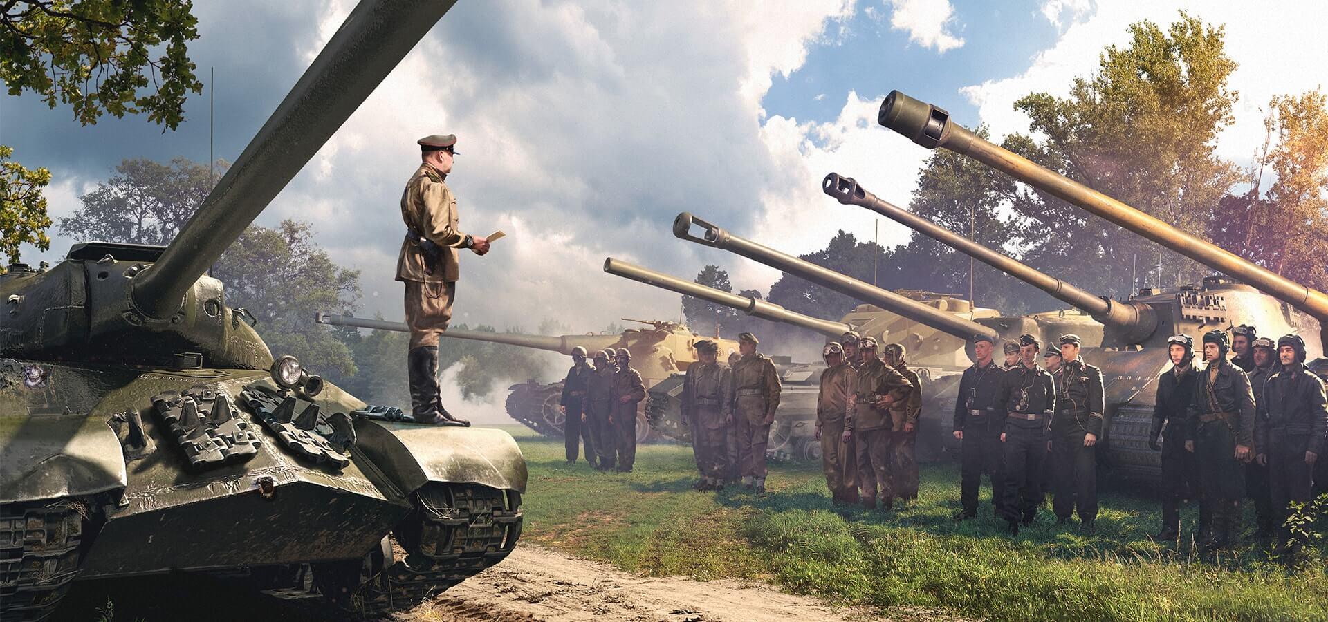 Новый экипаж и замена оборудования в World of Tanks