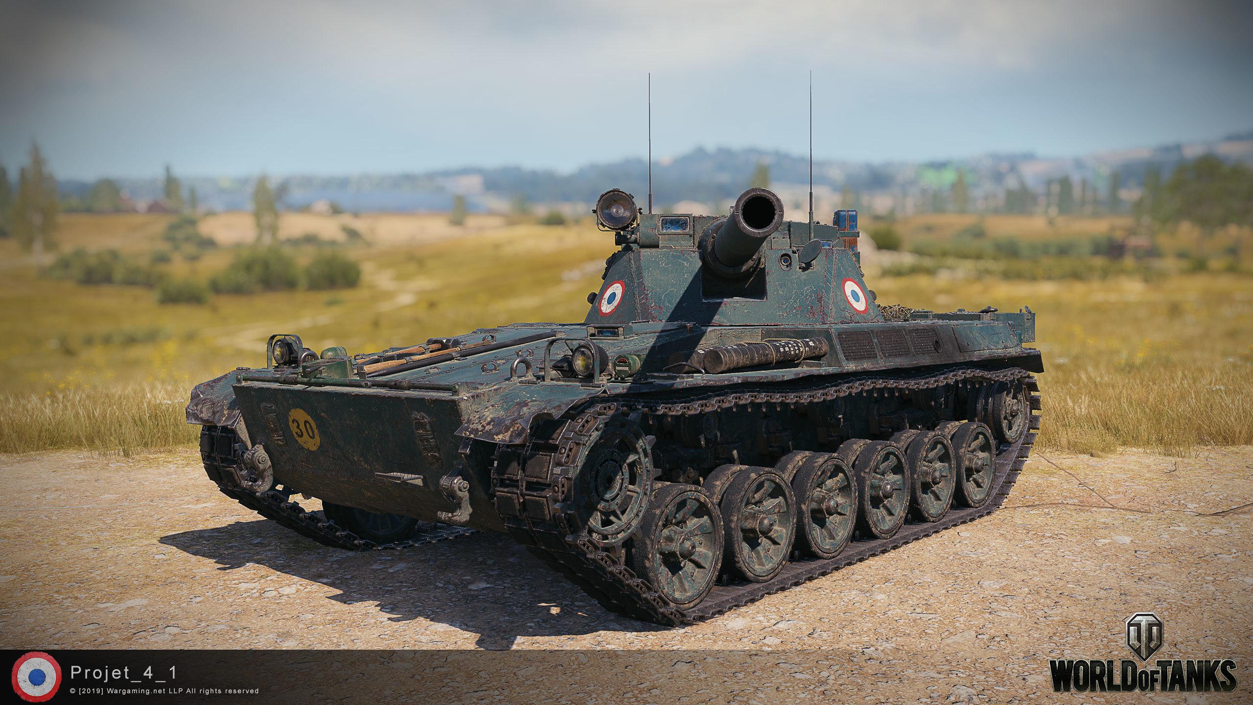 Char Futur 4 — новая имба в WoT? Первый акционный танк с барабаном.