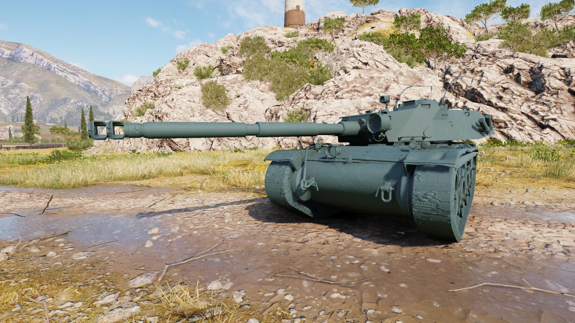Обзор Bat Chatillon Bourrasque — новый французский прем танк с барабаном