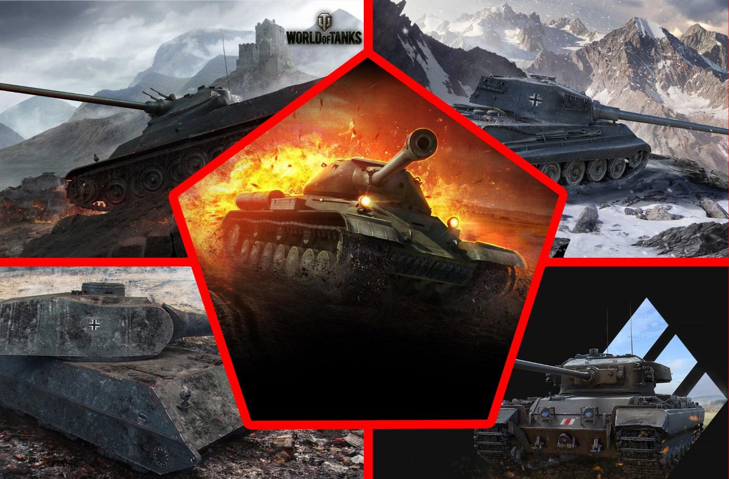 Четыре лучших тяжелых танка 8 уровня